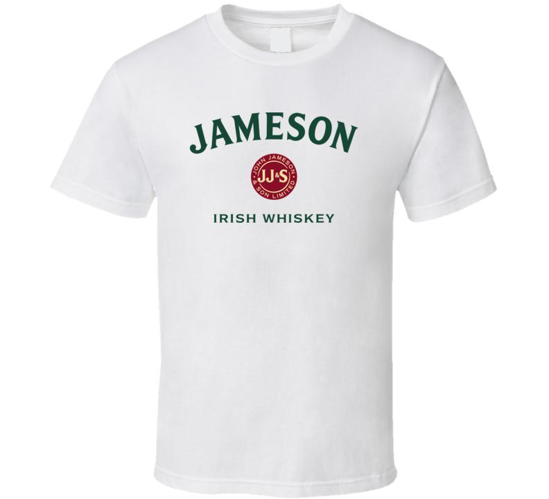 Jameson Irish Whisky Logo T Shirt