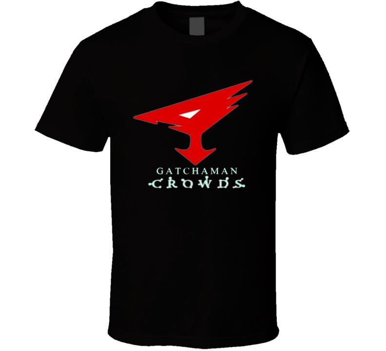 Gatchaman Crowds Bird Logo T Shirt