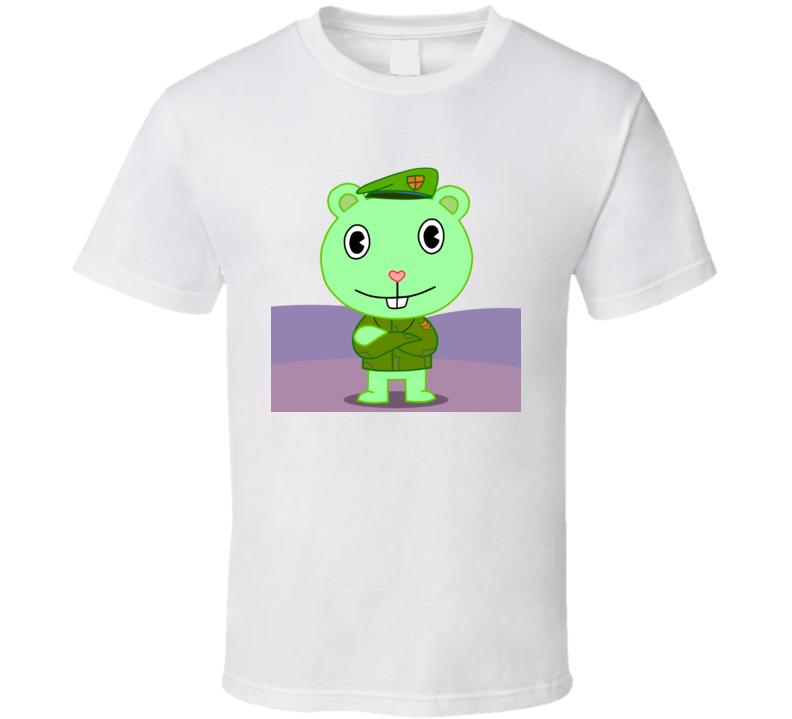 Evil Flippy The Happy Tree Friends ef718s T Shirt