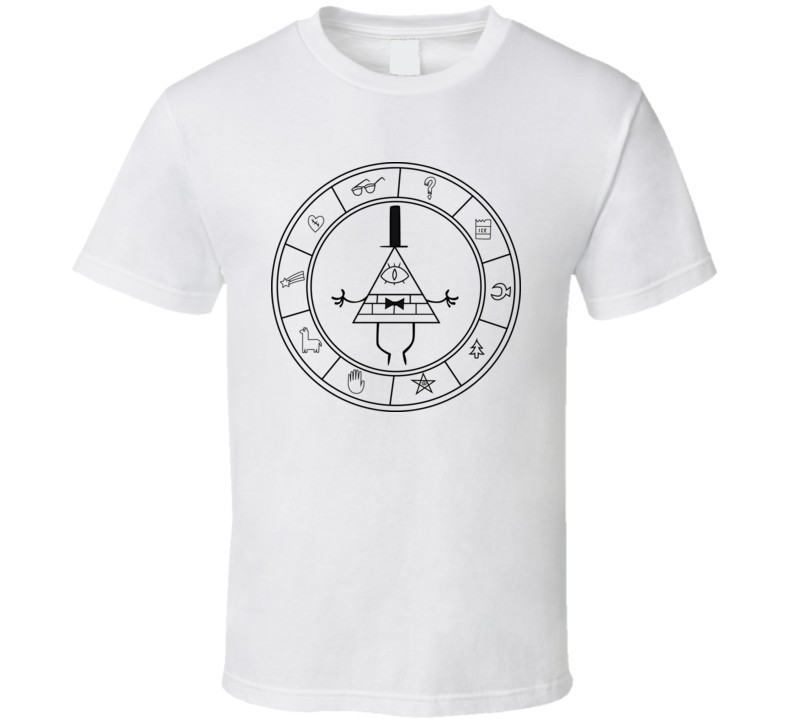 Gravity Falls Bill Cipher g591k T Shirt