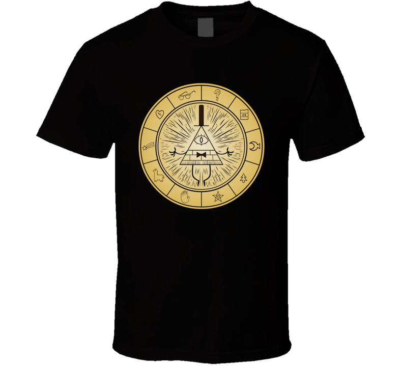 Gravity Falls Bill Cipher g938z T Shirt