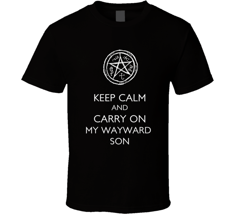 Keep Calm and Supernatural T Shirt