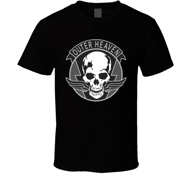 Metal Gear Solid Outer Heaven T Shirt
