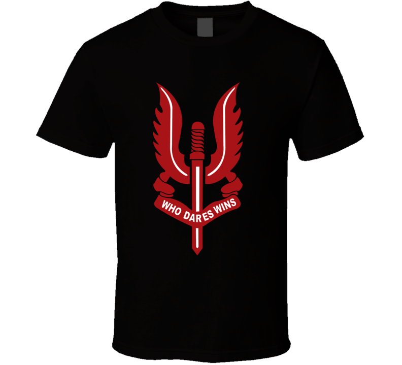 SAS Special Air Service Logo s837d T Shirt