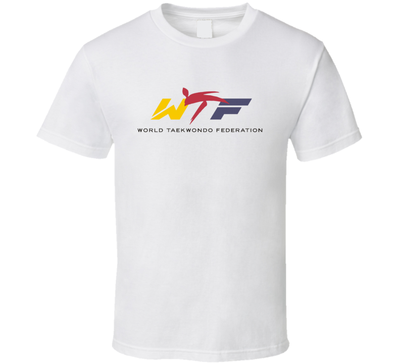 World Taekwondo Federation WTF T Shirt