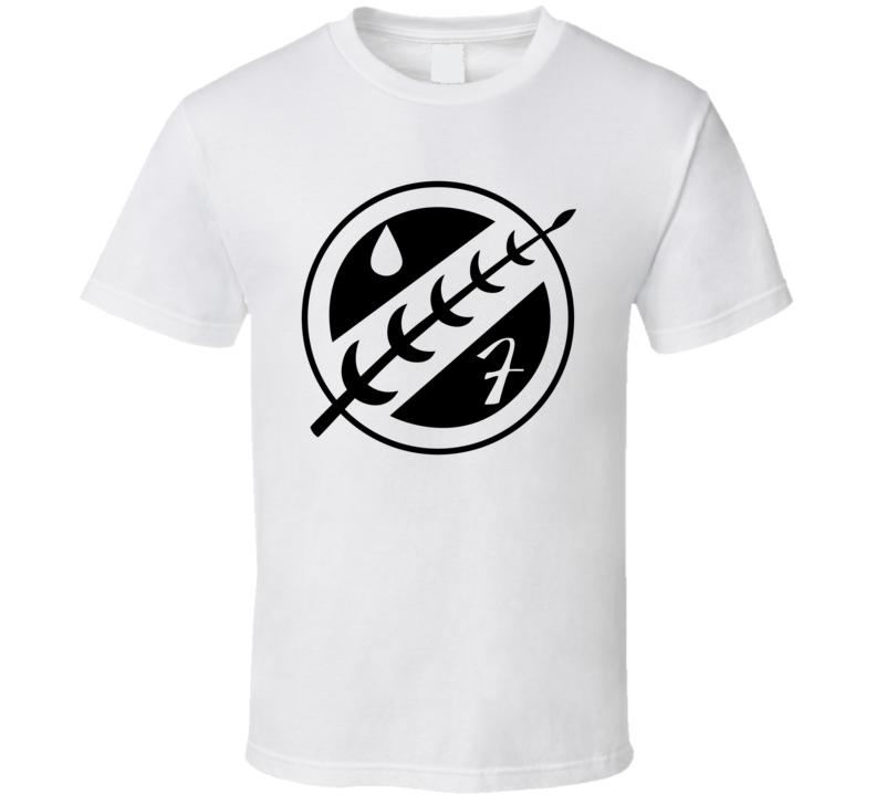 Boba Fett Mandalorian Logo b41 T Shirt