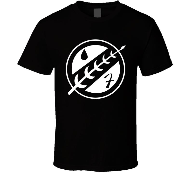 Boba Fett Mandalorian Logo b67 T Shirt