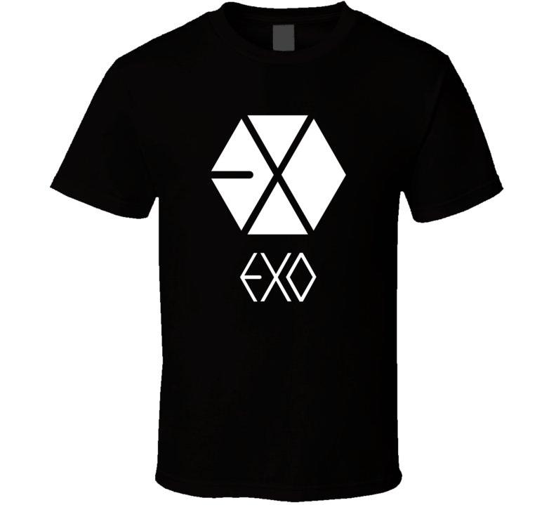 EXO Korean Boy Band e43v T Shirt