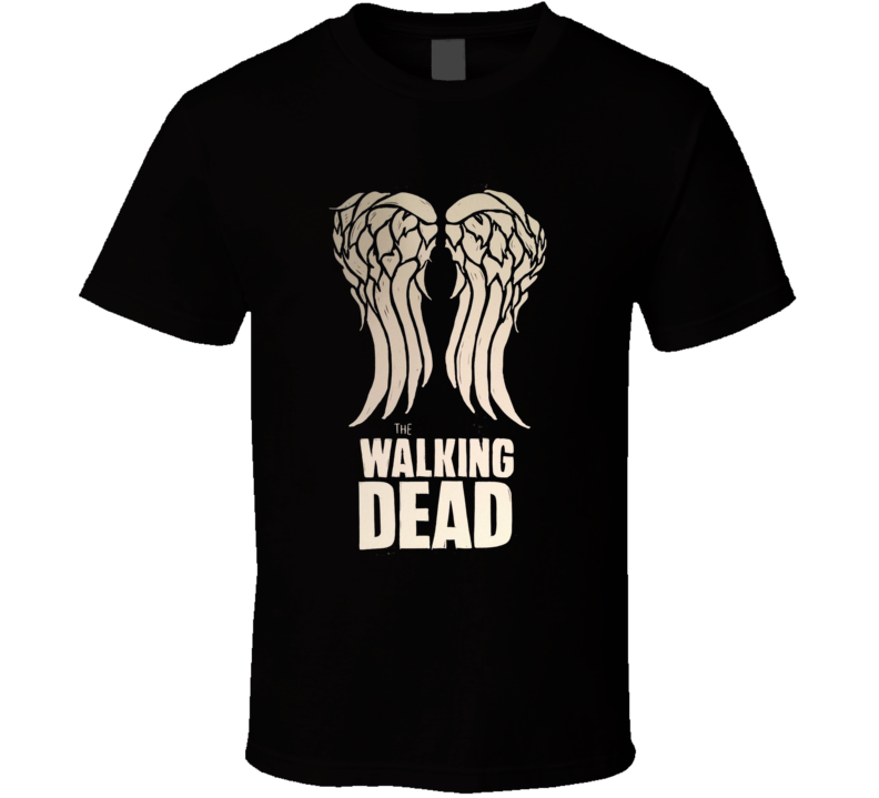 The Walking Dead Rick Daryl Wings T Shirt