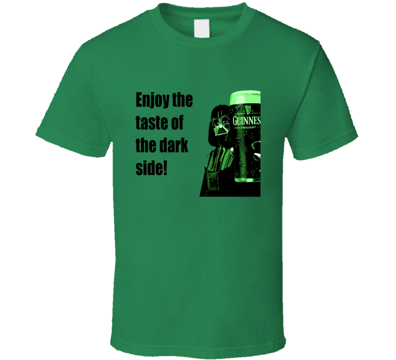 Darth Vader with Guiness T Shirt