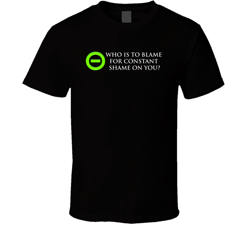 Type O Negative Shame T Shirt