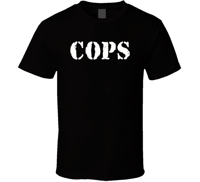 Cops Logo T Shirt