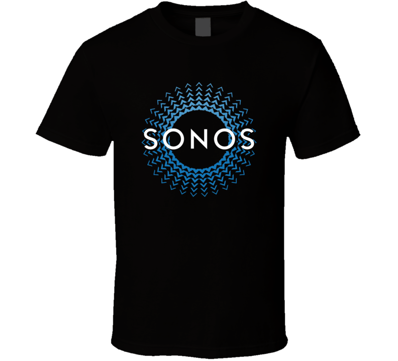 Sonos Logo Wireless Blue T Shirt