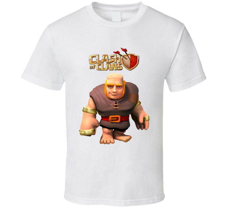 Giant Clash of Clans T Shirt