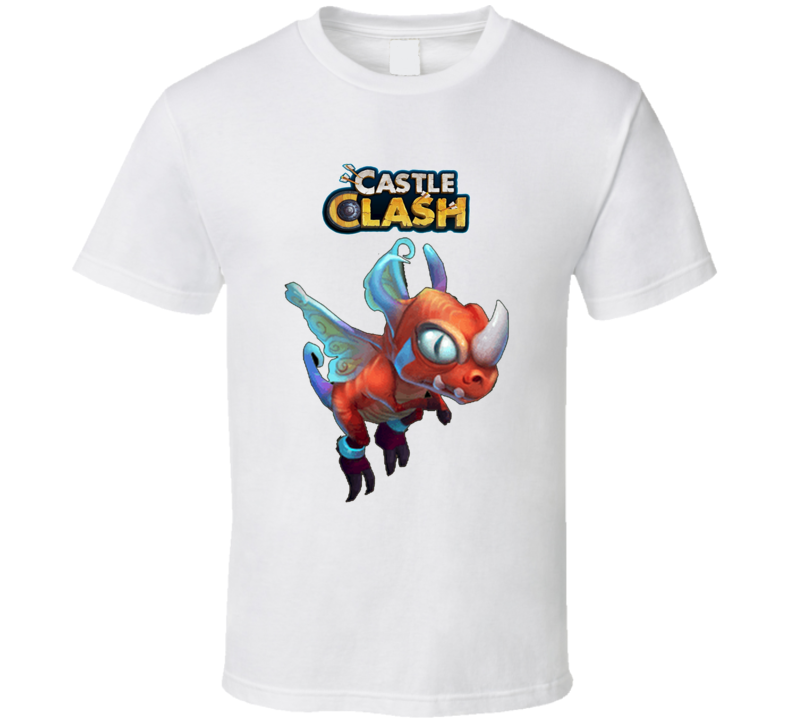 Fairy Dragon Castle Clash T Shirt