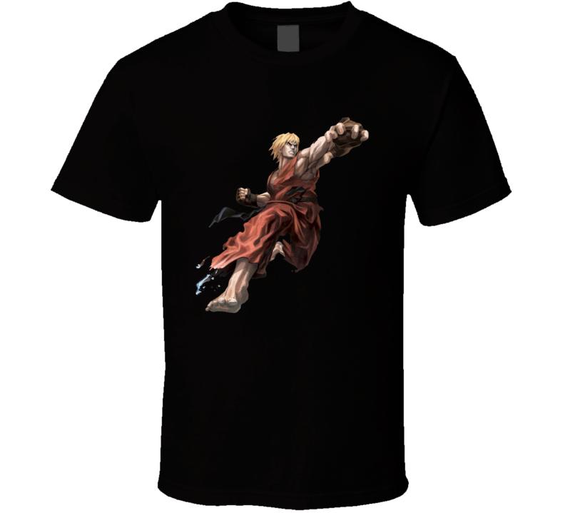 Street Fighter X Tekken Ken T Shirt