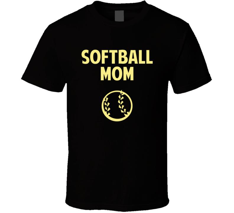 Softball Mom sb7821 T Shirt