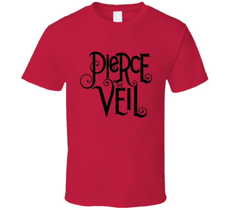 Pierce The Veil Text Logo T Shirt