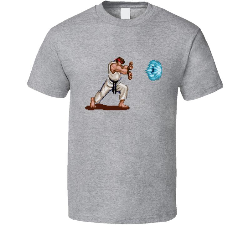 Hadouken Ryu Street Fighter T Shirt