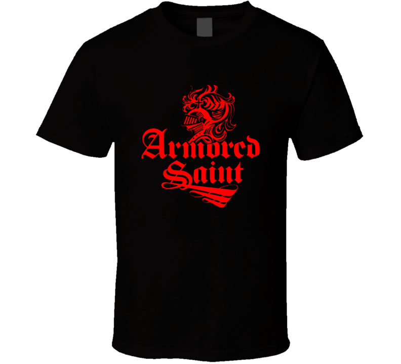 Armored Saint Logo T Shirt