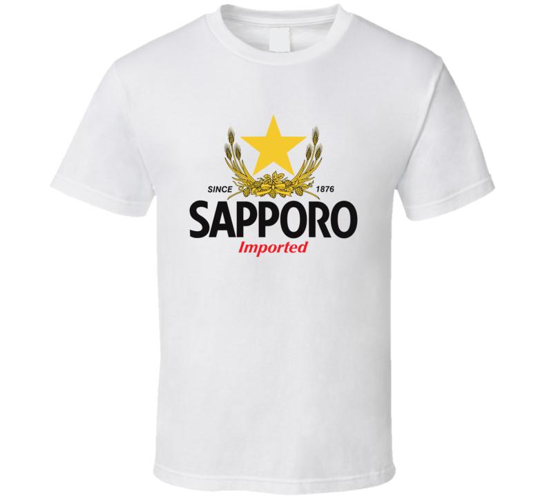 Sapporo Beer Logo T Shirt