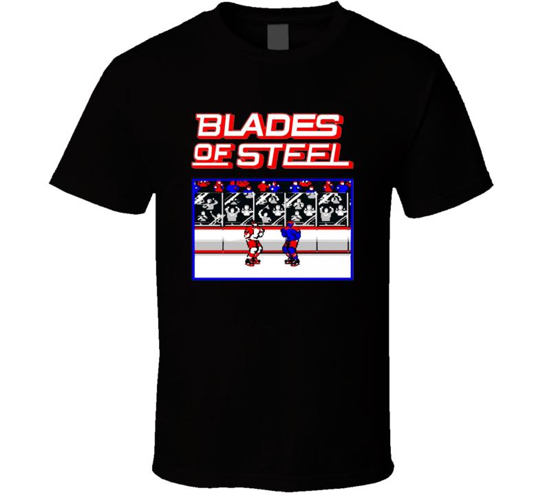 Blades of Steel Logo T Shirt