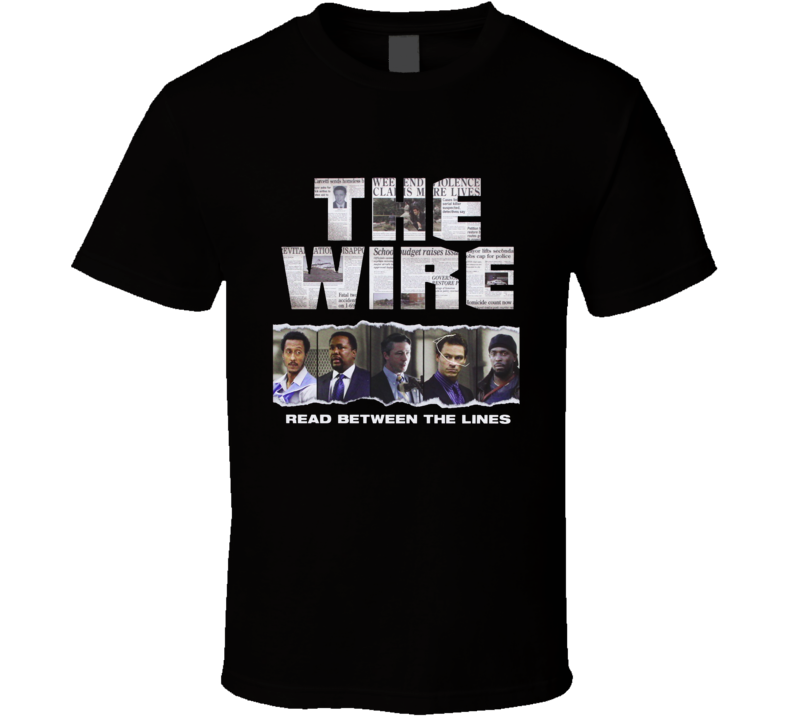 The Wire Read Between The Lines T Shirt