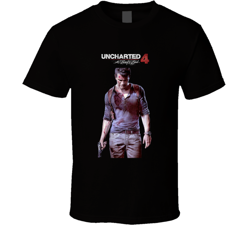 Uncharted 4 A Thiefs End T Shirt