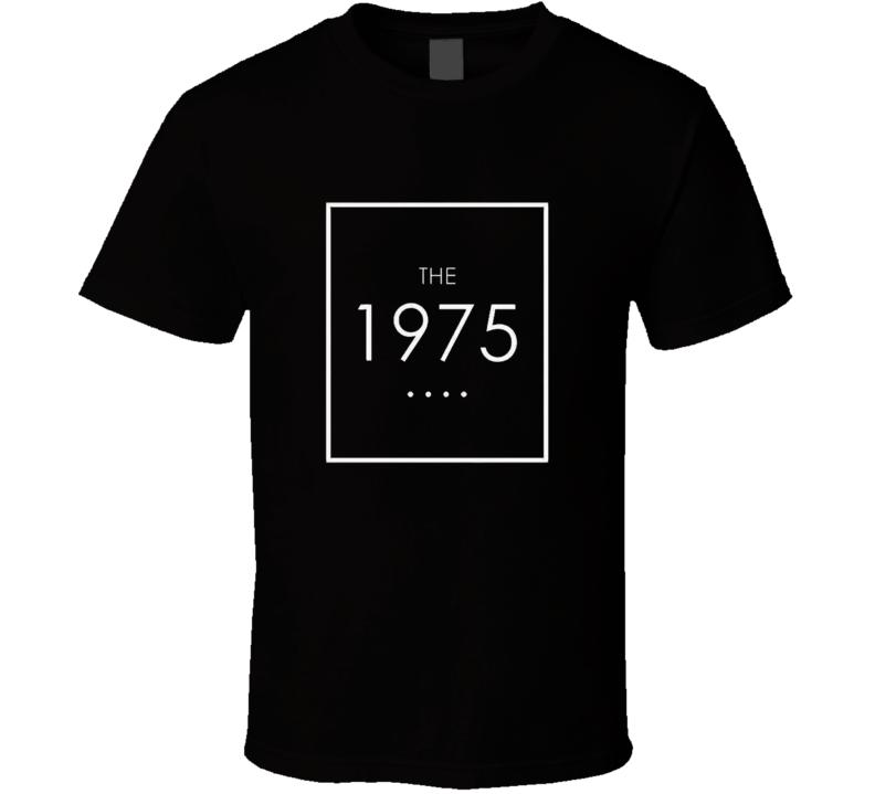 The 1975 Band Logo T Shirt