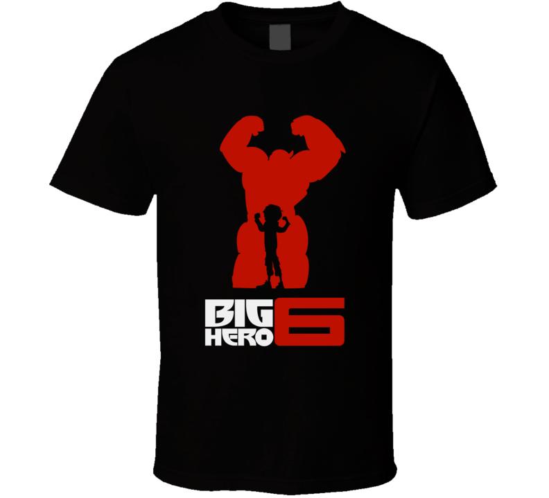 Hiro and-Baymax Big Hero 6 T Shirt