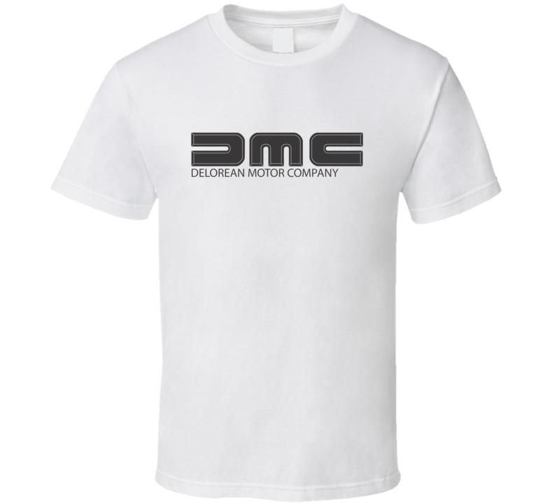 DMC Delorean Motor Company Logo T Shirt