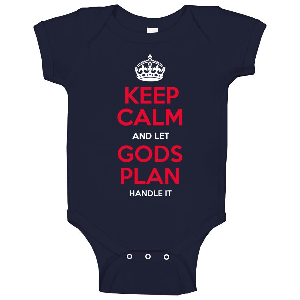 Gods Plan Baby One Piece