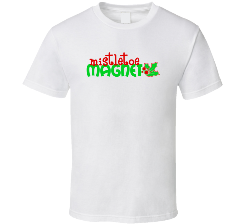 Mistletoe Magnet V2 Barton Market T Shirt
