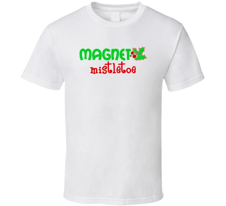 Mistletoe Magnet V2-1 Barton Market T Shirt
