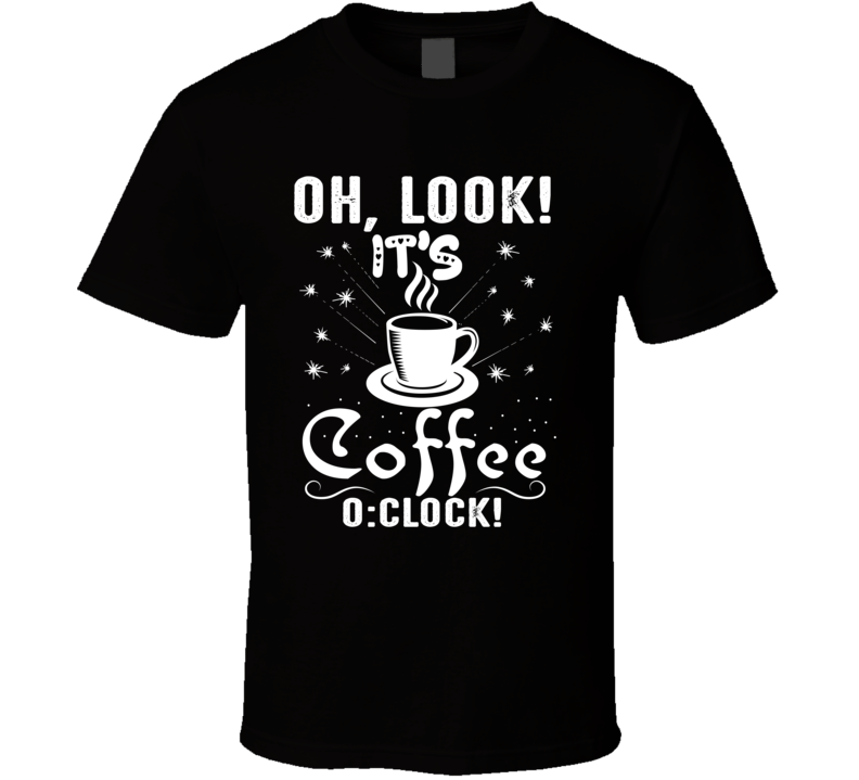 Look Coffee T Shirt