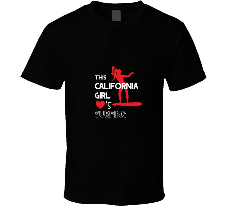 Cali Surfing - States T Shirt