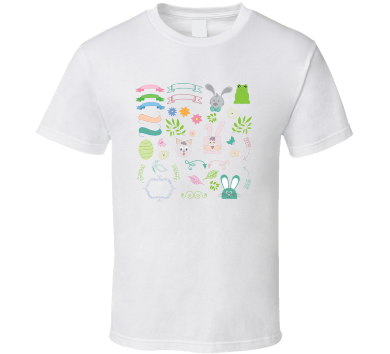 The Cutest Spring Doodles T Shirt