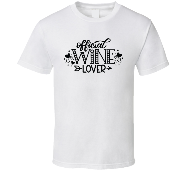 Official Wine Lover T Shirt