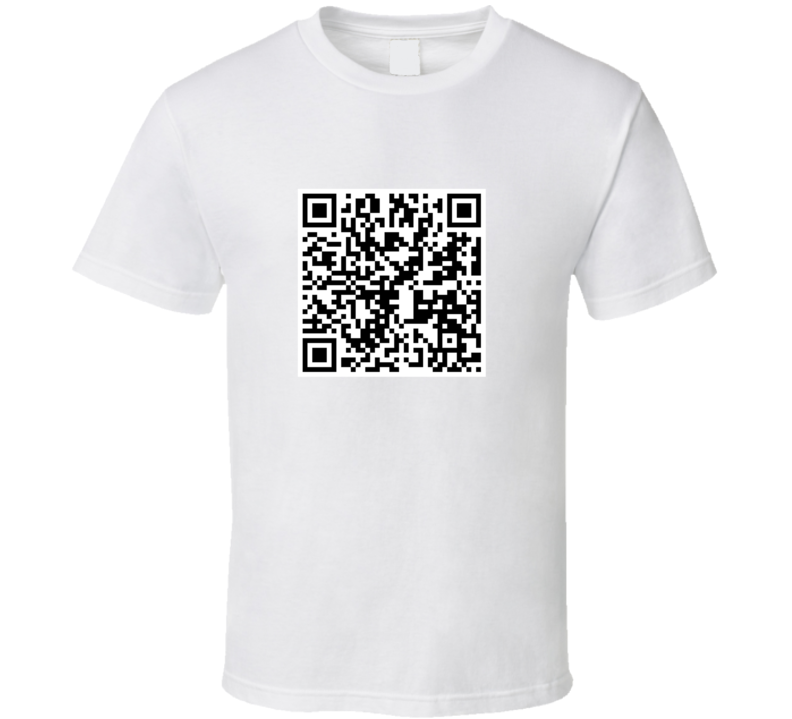 You Are a Creeper QR Code T-Shirt
