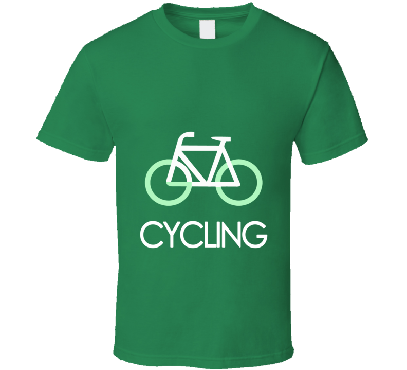 Go Cycling Bicycle Fitness Sports T-Shirt T Shirt