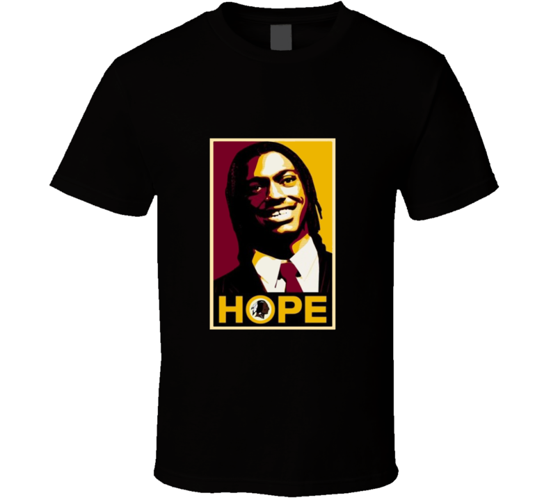 Robert Griffin III Hope Griffining Football Shirt Washington Red Skins