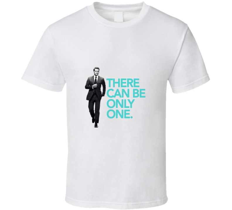 Suits Harvey Specter There Can Only be One Lawyer TV T Shirt