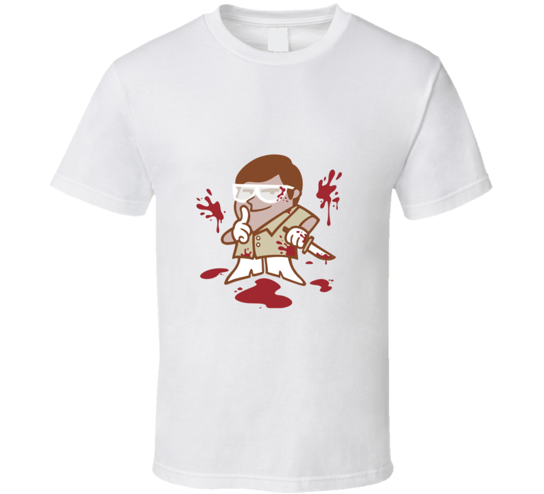Dexter Morgan Cartoon TV  T Shirt