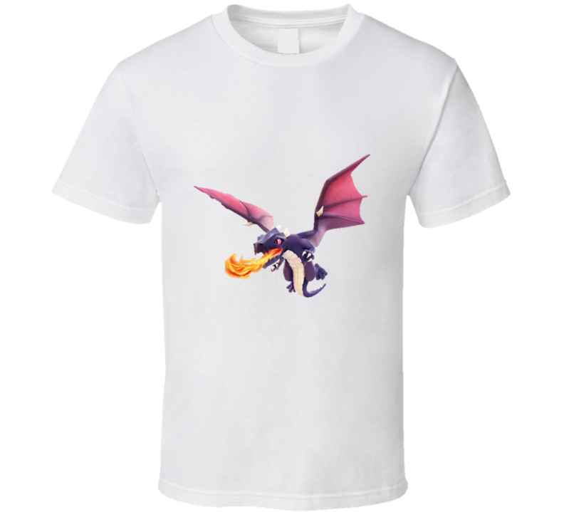 Clash of Clans Dragon App T Shirt