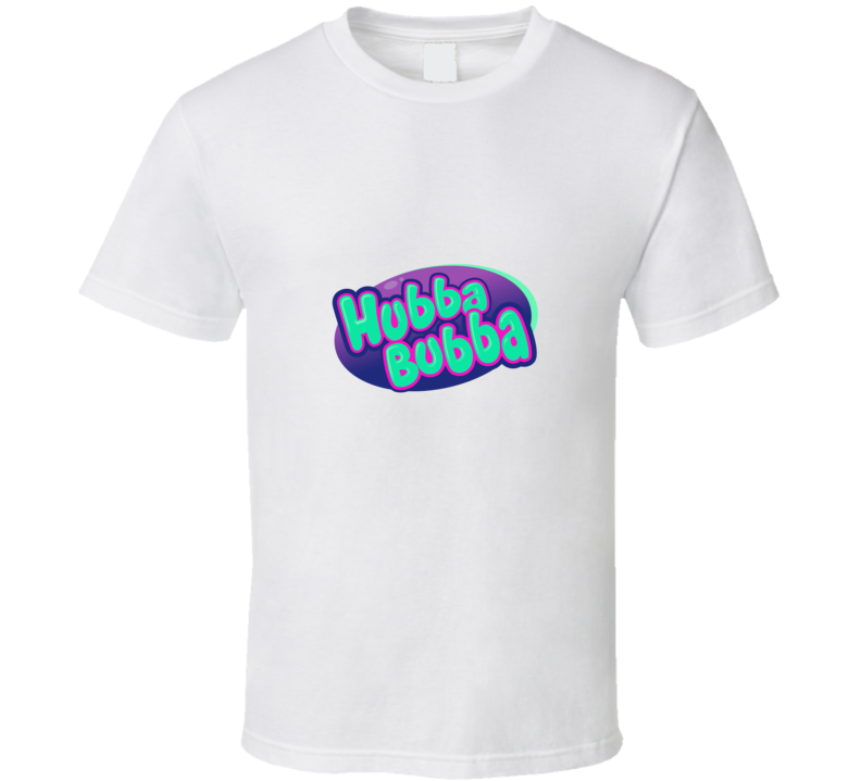 Hubba Bubba Retro Candy Gum 80s  T Shirt