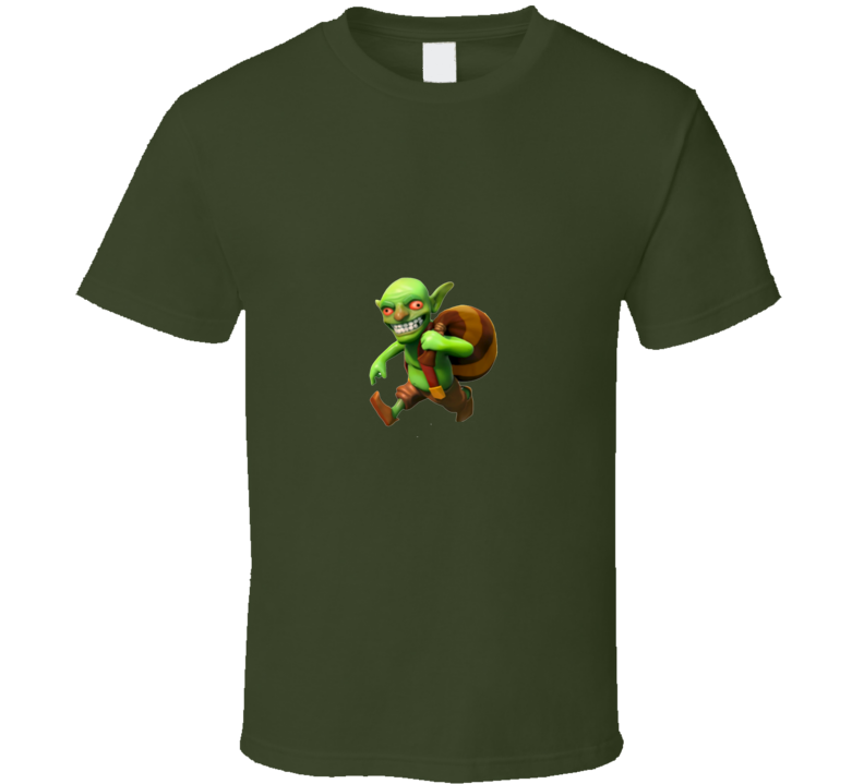Clash of Clans Goblin App Game  T Shirt