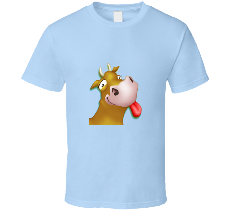 Cow Hay Day Farm iPhone App Game YOUTH & FITTED AVAILABLE T Shirt