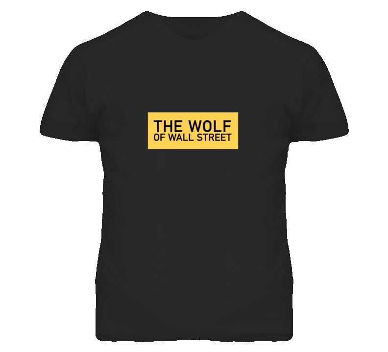 Wolf of Wall Street Movie Leonardo DiCaprio T Shirt