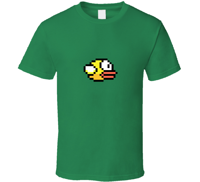 Flappy Bird Game iPhone App Youth Sizes and More Colors Available T Shirt