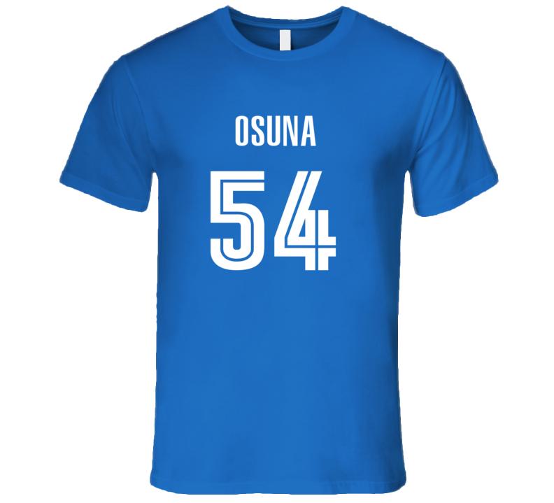 huge selection of 6d302 95af3 Roberto Osuna Toronto Baseball Number 54 Jersey Style T Shirt